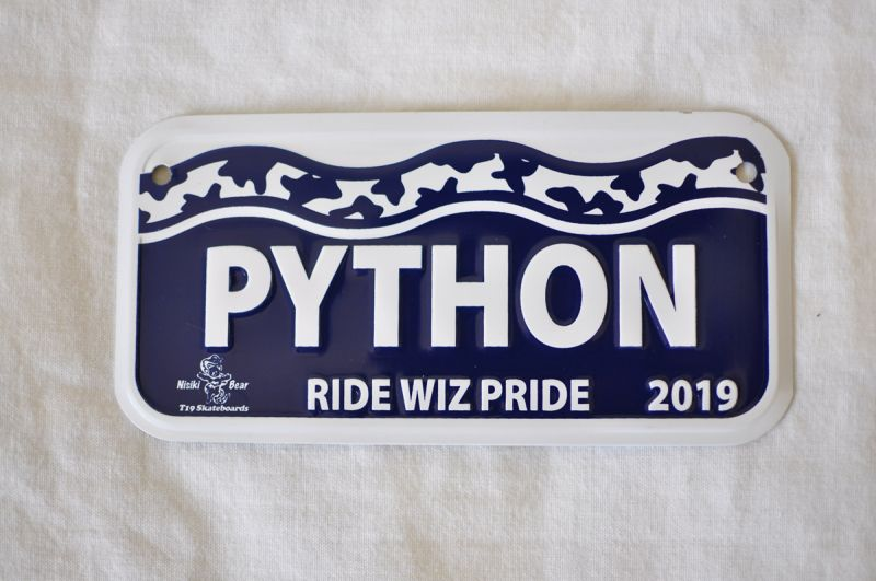 Bicycle License Plate